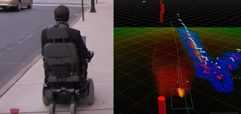 Autonomous Robotic Smart Wheelchair Navigation